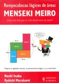 Menseki Meiro. Rompecabezas lógicos de áreas. ¿Eres más listo que un niño de primaria de Japón?