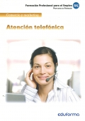 Atención telefónica. Comercio y marketing.