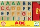 ABC Letras magn�ticas de madera ( 60 piezas)