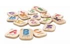 Alfabeto A-Z en Braille de madera