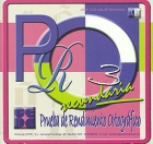 PRO 3. Prueba de Rendimiento Ortográfico. Secundaria. ( CD ).