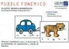 Púzzle fonémico. Material autodidáctico para el desarrollo de las habilidades de segmentación y síntesis de fonemas.