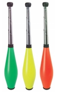 Mazas malabares buterfly colores. Juego 3 unidades