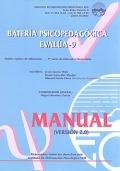 Manual de bater�a Psicopedag�gica EVAL�A - 9