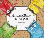El monstruo de colores, un libro pop-up