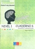 Palabras. Cuaderno 6. Nivel 1. Transporte y comunicaciones.