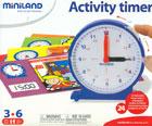 Estuche de las horas del reloj (24 fichas de actividades)