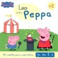 Leo con Peppa N�2. Un cuento para cada letra: p, m, l, s