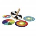Peonza de espirales de colores