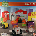 Blocks Super. City 2 (62 piezas)