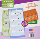 Picto Organizador. Contiene más de 700 pictogramas en pegatina