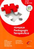 Temario de pedagog�a terape�tica para opositores al cuerpo de maestros