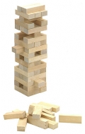 Block a Block de madera natural