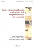 Intervención psicopedagógica para la mejora de la comprensión lectora y del aprendizaje.