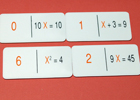 Domin� matematico algebra 1