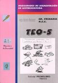 TEO - 5. ( pr - tr - br - cr - gr ). Habilidades de segmentaci�n en lectoescritura.