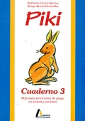 Piki. Cuaderno 3. Material funcional de apoyo en lectura y escritura.
