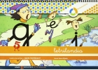 Letrilandia. Cuaderno de escritura 5. Pauta Montessori.