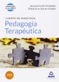 Pedagog�a terape�tica. Secuencia de Unidades Did�cticas desarrolladas. Cuerpo de maestros.
