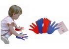 Conjunto de 8 manos y 8 pies antideslizantes