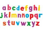 Estuche de letras magnéticas minúsculas (64 piezas)