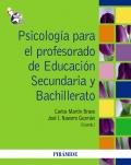 Psicolog�a para el profesorado de Educaci�n Secundaria y Bachillerato