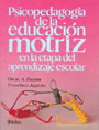 Psicopedagoga de la educacin motriz en la etapa del aprendizaje escolar.