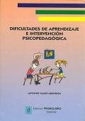 Dificultades de aprendizaje e intervenci�n psicopedag�gica (Valles)