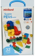 Malet�n cart�n Superpegs mini (32 piezas)