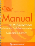 Manual de publicaciones de la American Psychological Association. Gu�a para el maestro.