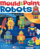 Crea y pinta imanes de nevera de Robots