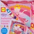 Bailarina mosaico artesanal