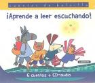 ¡ Aprende a leer escuchando !. Cuentos de bolsillo. 6 cuentos + CD-audio.
