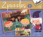 Puzzles La Casita de Chocolate (48 piezas)