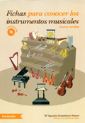 Fichas para conocer los instrumentos musicales. Contiene CD.