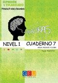 Palabras. Cuaderno 7. Nivel 1. Agua, paisaje y clima.