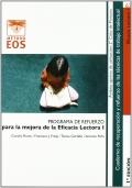 Eficacia lectora I. Programa de refuerzo para la mejora de la eficacia lectora I.