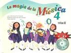 La magia de la m�sica 4. Incluye CD.
