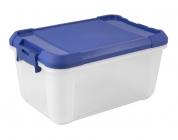 Contendedor de plastico de 1 litros (16 x 7,5 x 10,5 cm)