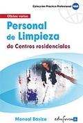 Personal de limpieza de centros residenciales. Manual b�sico.