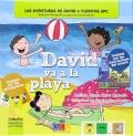 David va a la playa. Primeros lectores. Cuentos SPC