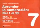 Colección estimular y aprender. Aprender la numeración: del 1 al 99. Nivel 7.