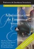 Administración de empresas. Volumen IV. Profesores de enseñanza secundaria.