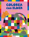 Colorea con Elmer.