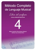 M�todo completo de lenguaje musical. Libro del profesor 4.