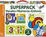 Vocales + N�meros + Colores. 3 juegos en uno.