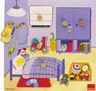Puzzle de madera habitaci�n