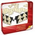 Dominó triangular (caja de metal)