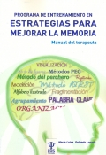 Programa de entrenamiento en estrategias para mejorar la memoria. Manual del terapeuta.