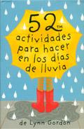 Baraja 52 actividades para hacer en los d�as de lluvia